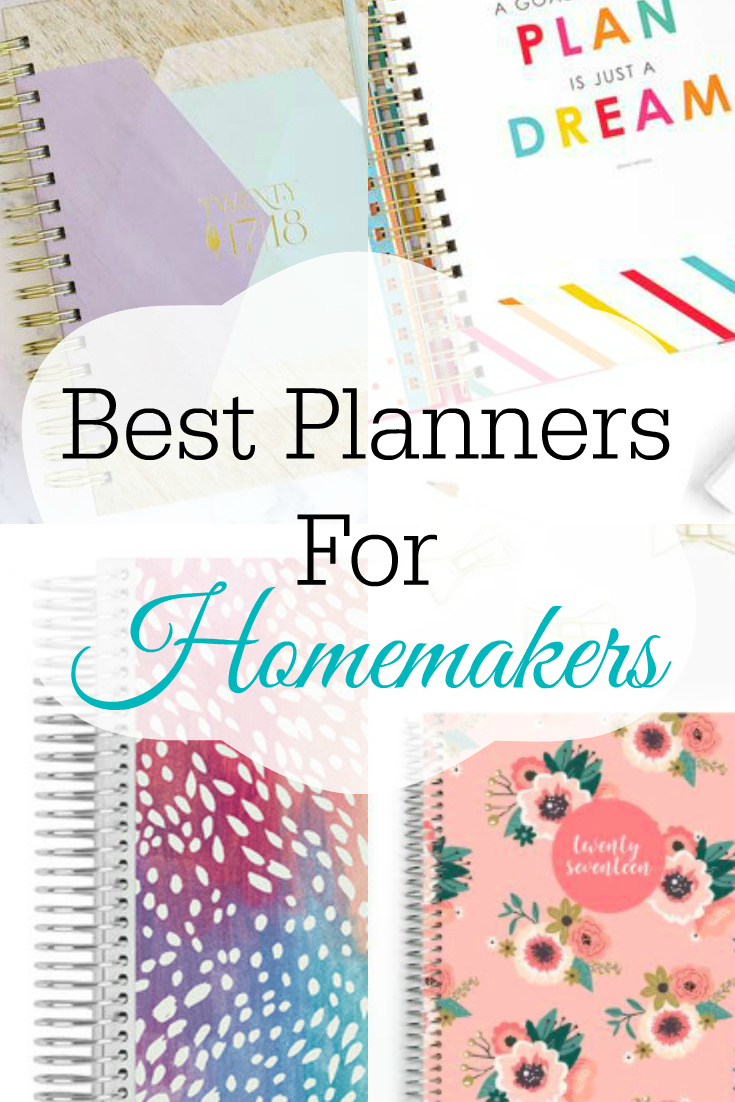 Collage of planners