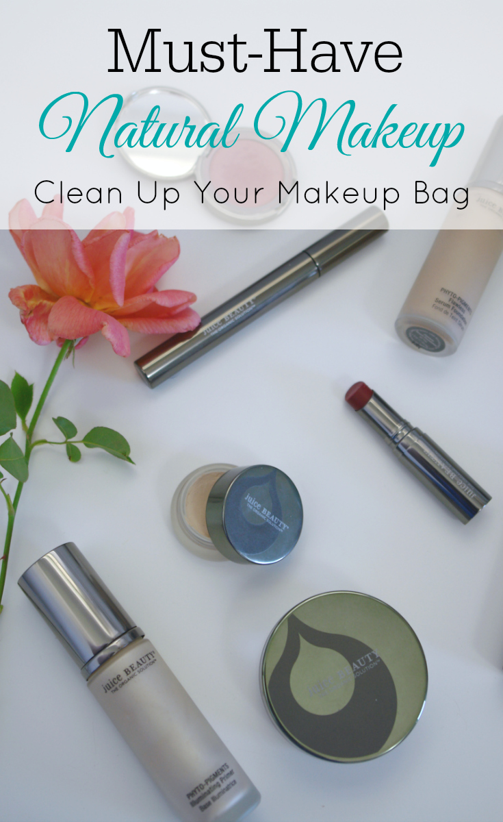 Must-Have Natural Makeup, organic makeup, juice beauty