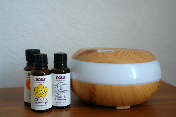 diffuser and essential oils