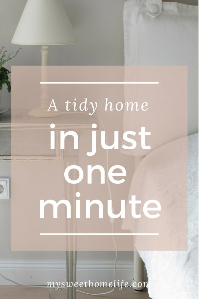 tidy home