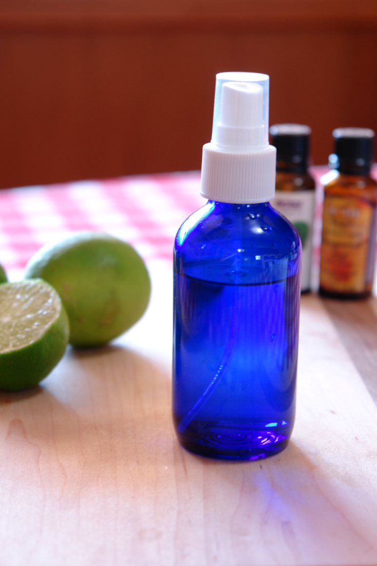 Citrus Fresh Air Freshener, DIY air freshener, room spray, bergamot, lime, essential oils
