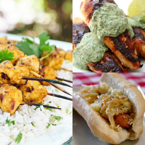 Grill more than just hot dogs and hamburgers, summer recipes, grilling, BBQ, grilled