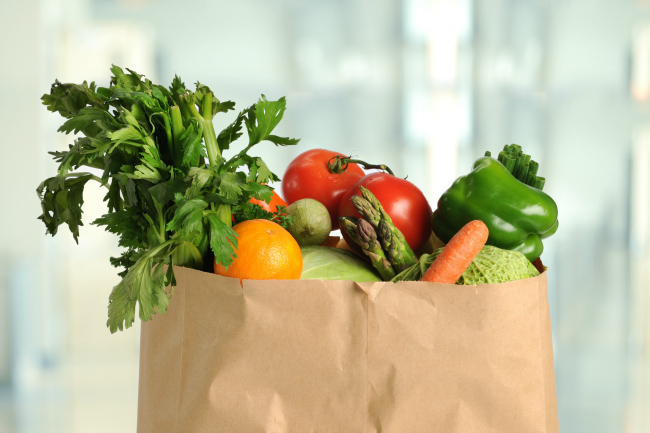 Once a month grocery shopping, grocery shop once a month to save time and money
