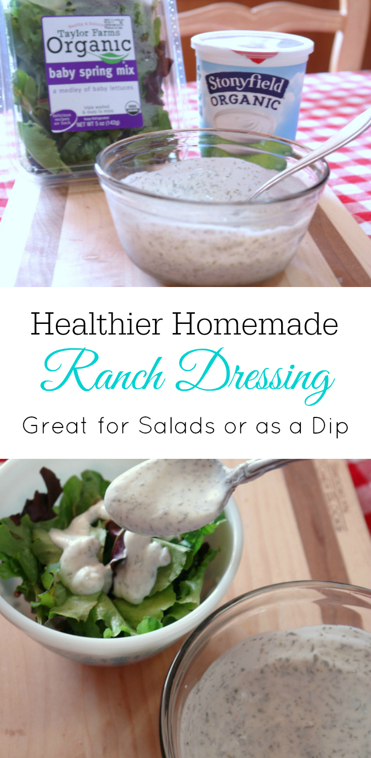 Homemade ranch dressing using yogurt, ranch dip, healthy ranch dressing