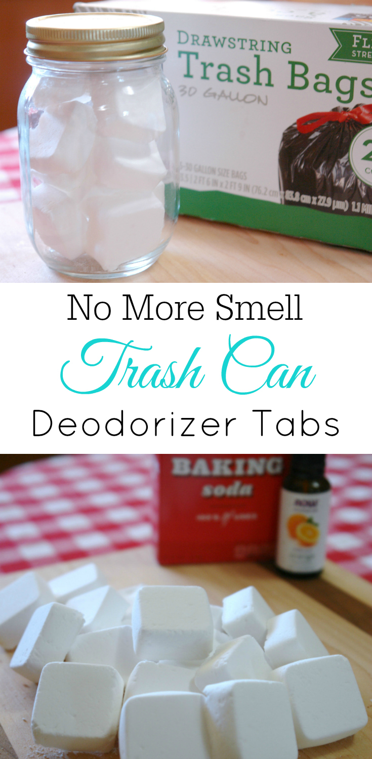 Trash Can Deodorizer Tabs Smelly Baking Soda Air Freshener Diy