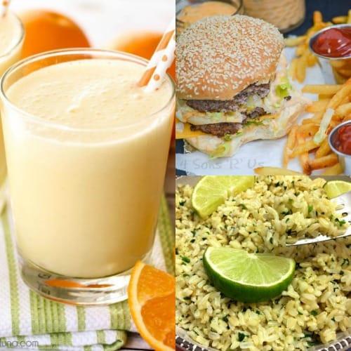 Natural Copycat Fast Food Recipes, Natural Fast Food, Copy Cat Fast Food