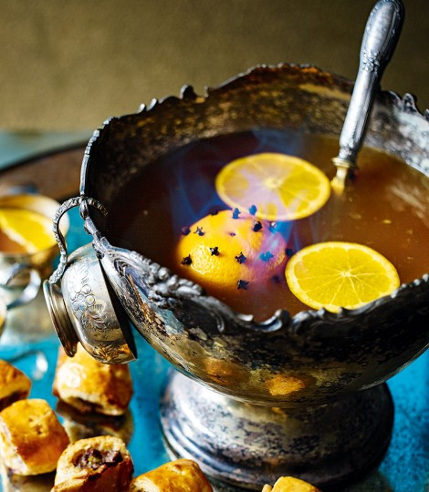 Flaming Rum Punch