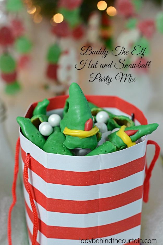 Buddy the Elf Snack Mix