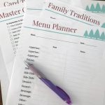 Staying Organized with a Christmas Planner