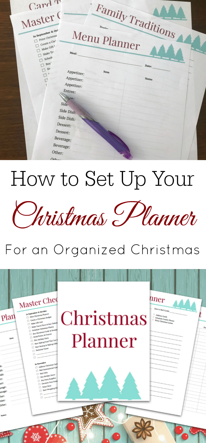 Creating a Christmas Planner, Christmas Planner, Holiday Planner, Organized for Christmas