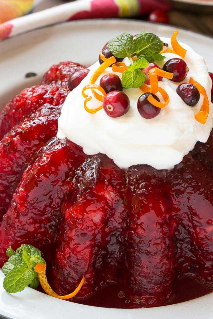 Cranberry Jello Mold