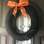 Easy Black Lace Halloween Wreath