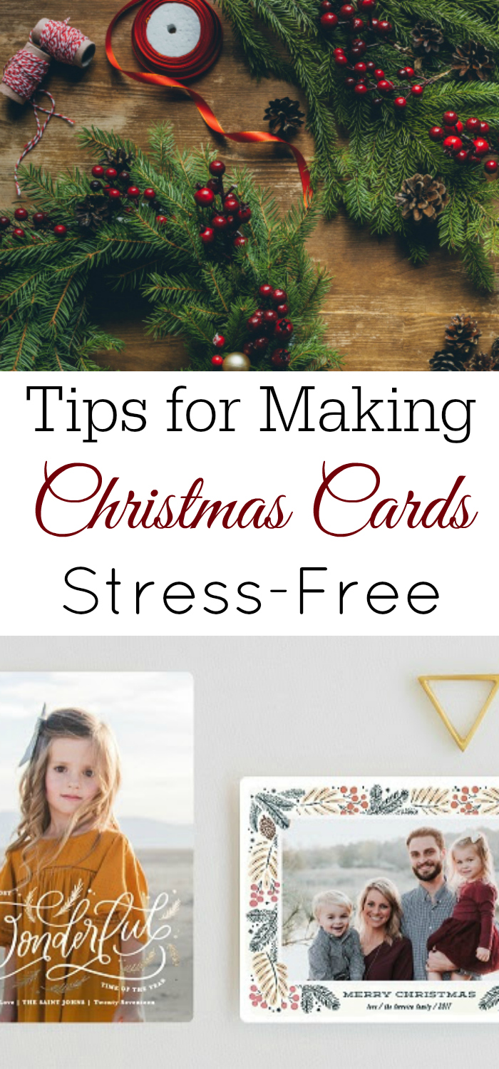 Stress-Free Christmas Cards - Retro Housewife Goes Green