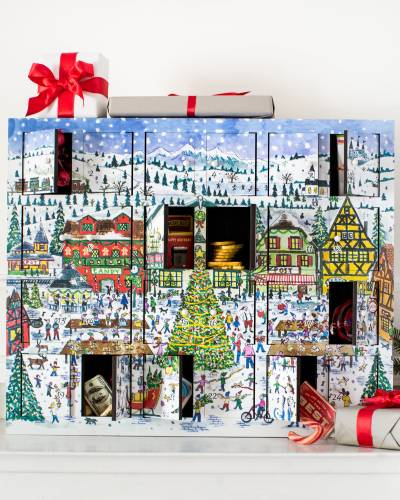 Michael Stirrings Christmas Village Advent Calendar