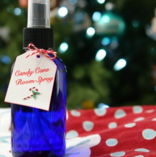 Candy Cane Room Spray, Holiday Air Freshener, Essential Oils, Christmas Essential Oils
