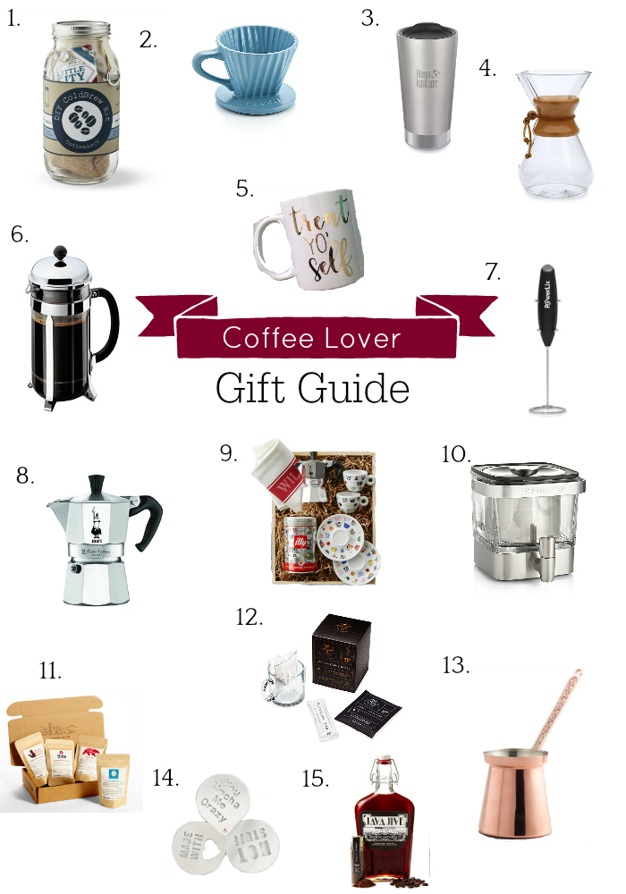 Holiday Gift Guide, Gifts for Coffee Lovers, Coffee Gifts