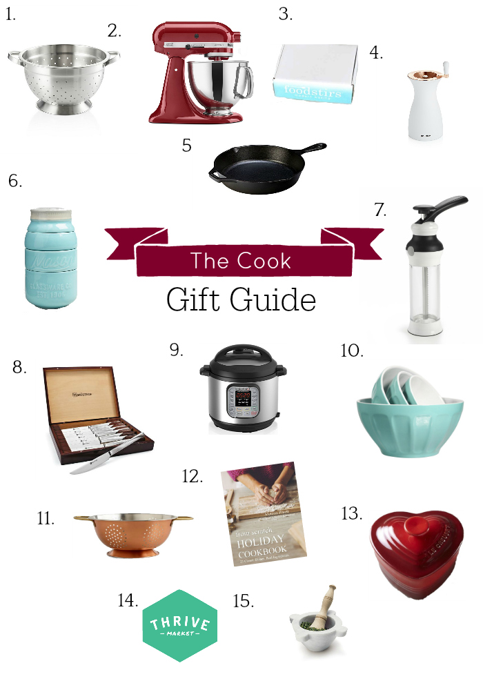 Holiday Gift Guide, Gifts for the Cook, Gifts for Baker