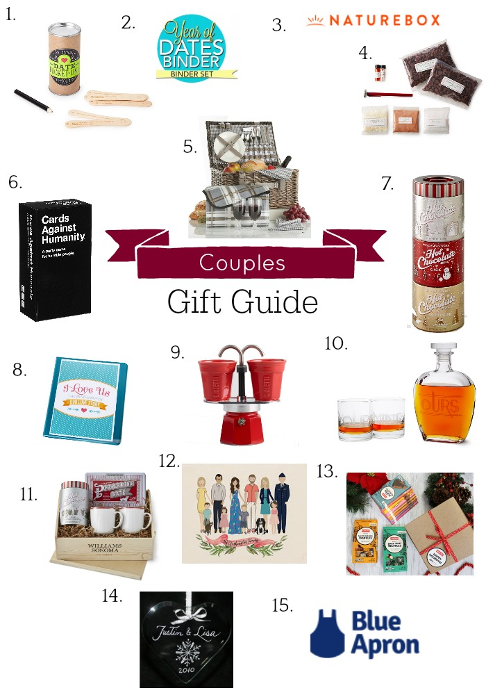 Holiday Gift Guide, Couple Gifts, Gifts for Couples