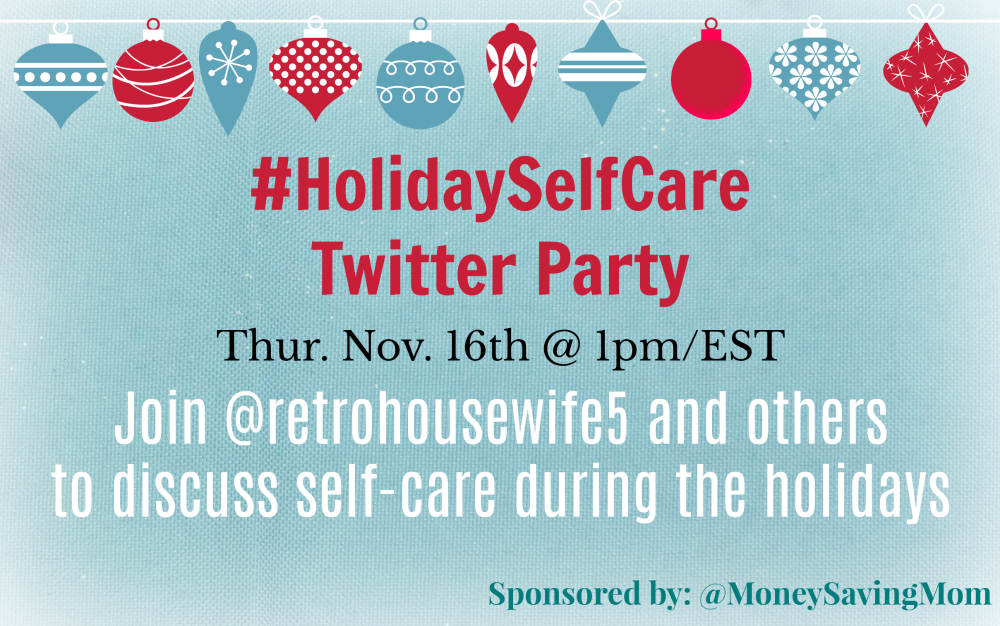 Holiday Self-Care Twitter Party