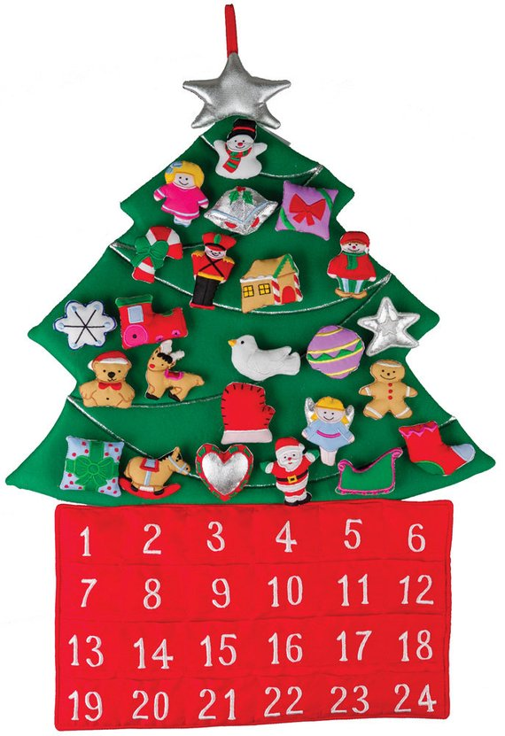 Reusable advent calendar