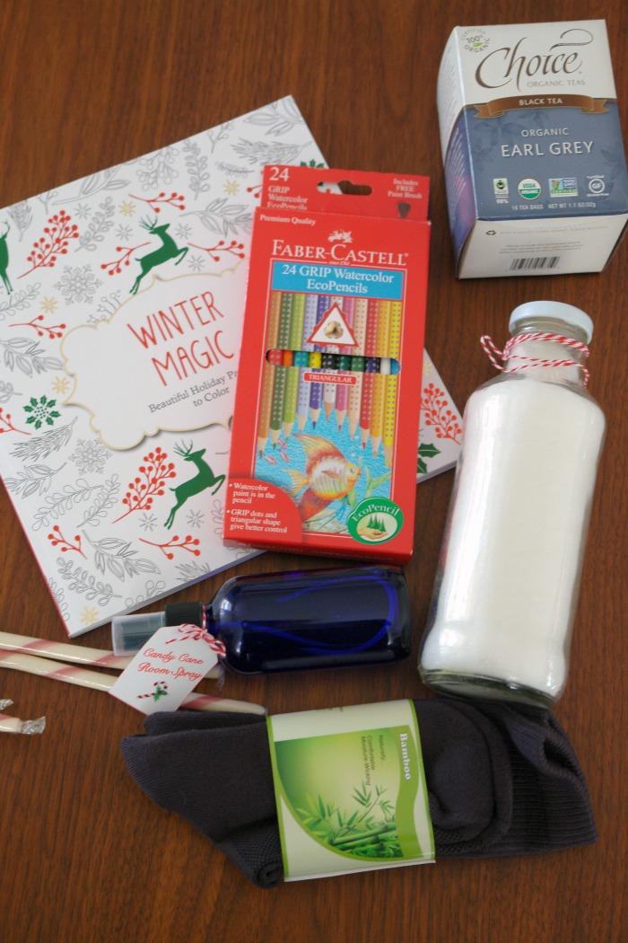 Create a Self-Care Gift Basket, Holiday Self-Care, Self-Care Gift, #SelfCare #Ad