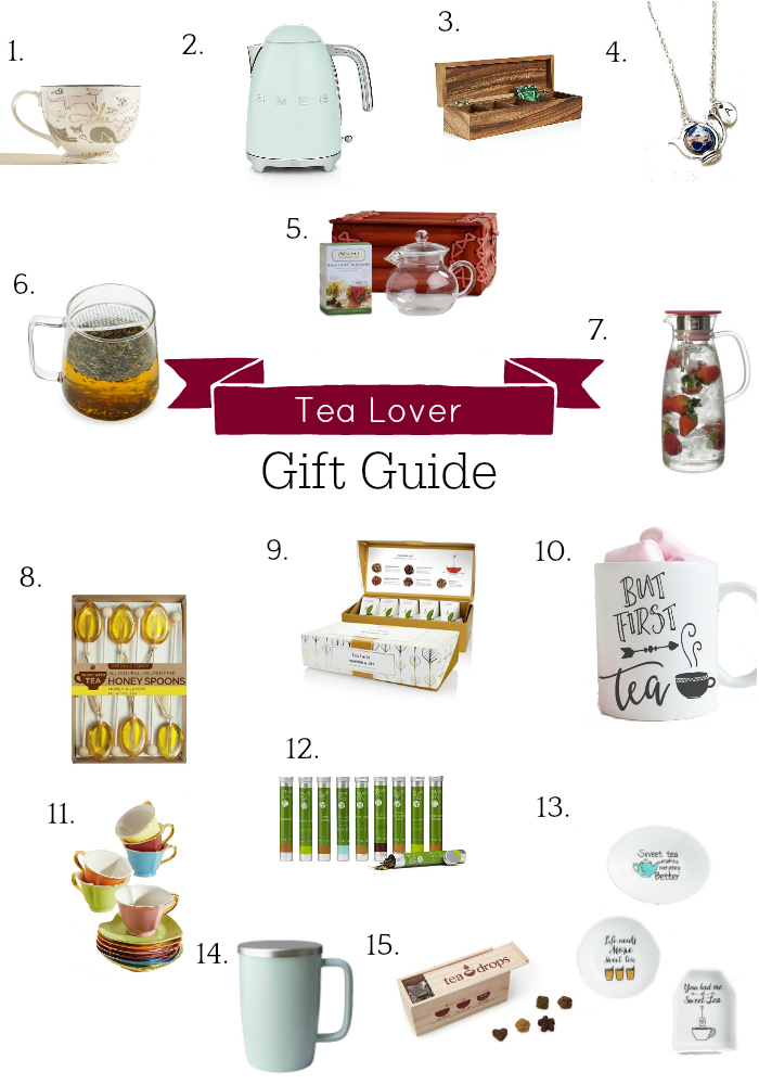 Holiday Gift Guide, Tea Lover Gift Guide, Tea Gifts