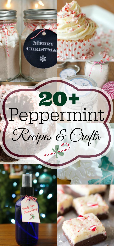 Peppermint Everything, peppermint dessert, peppermint cookies, peppermint bark, peppermint brownies, peppermint DIY, peppermint crafts, peppermint gifts #peppermint #christmas