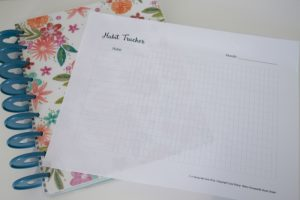 Creating New Habits: Free Habit Tracker Printable