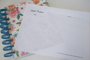 Creating New Habits: Free Habit Tracker Printable