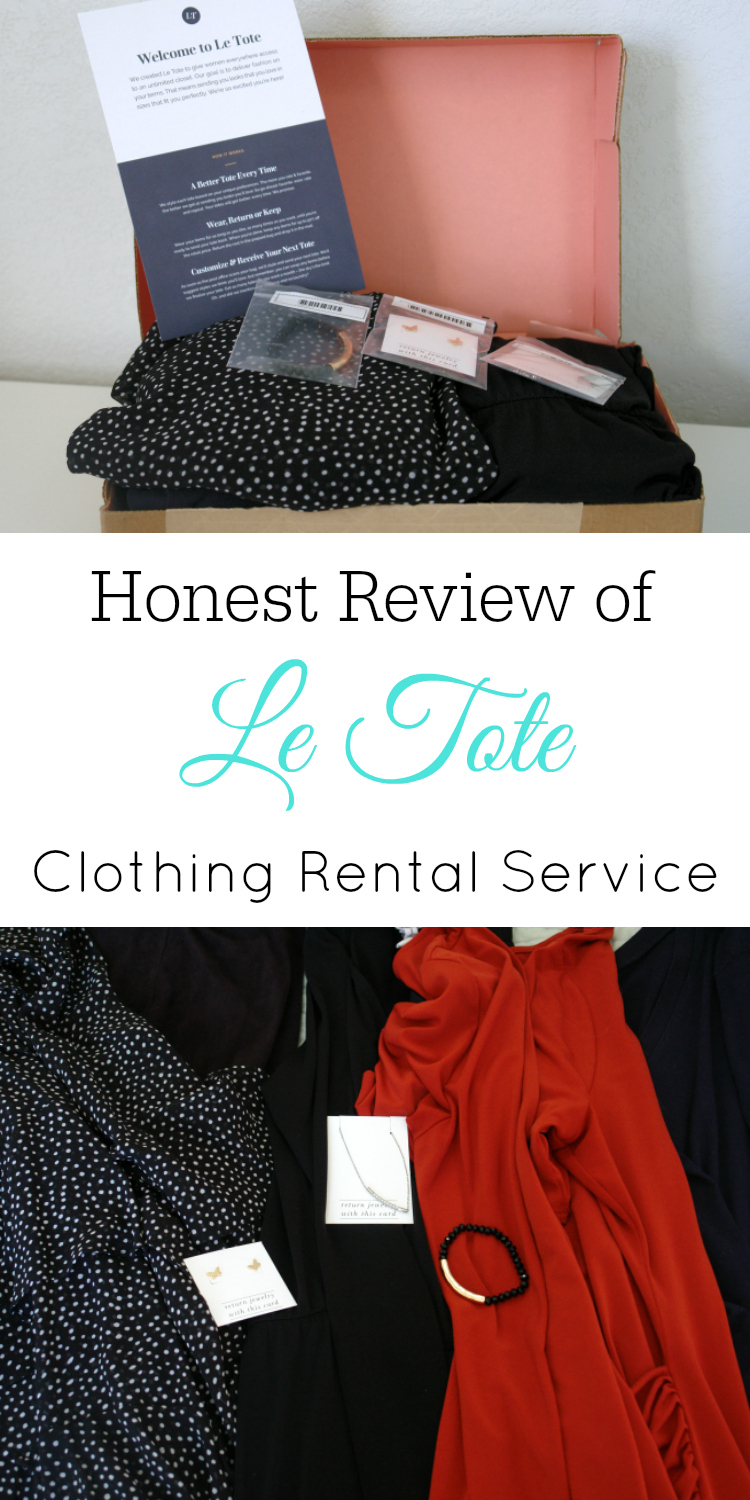 An Honest Le Tote Review, rental clothing, clothing subscription box, eco-friendly clothing, sustainable clothing #letote #subscriptionbox #fashion