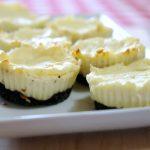 Mini Mint Cheesecakes, Mini Cheesecakes, #dessert
