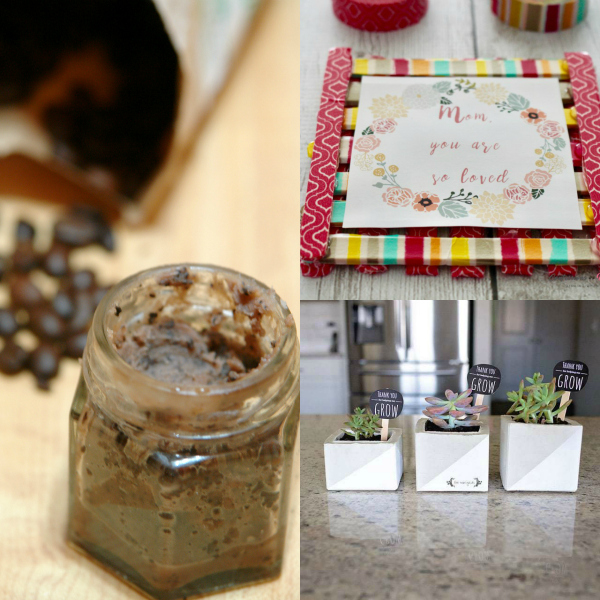Homemade Gifts for Moms, Mother's Day Gifts, DIY Gifts, Handmade Gifts #DIY #Moms #MothersDay