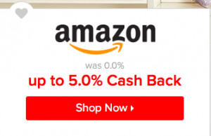 Amazon on Ebates
