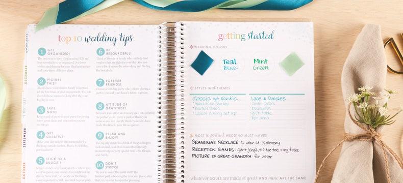 Erin Condren Wedding Planner.Wedding Planning What I Wish I Would Have Had