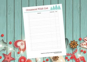 Hallmark Ornaments Checklist