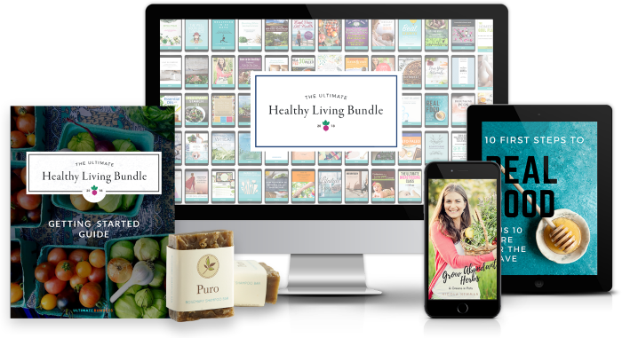 Ultimate Healthy Living Bundle on computer and other devices.