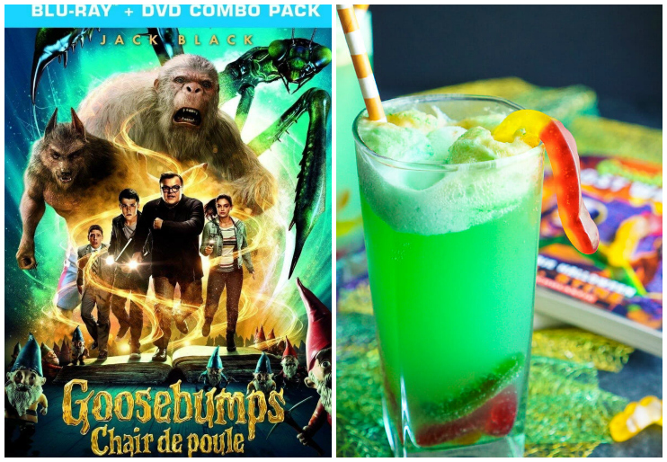 Goosebumps dvd cover and Goosebumps punch