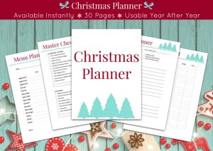 preview of Christmas planner