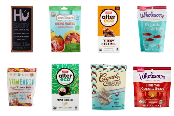 collage of Thrive Market sweets