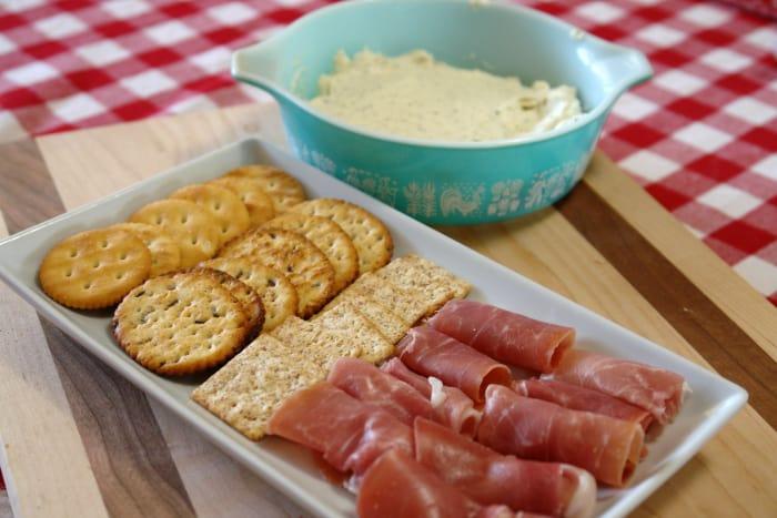 Garlic Herb Cream Cheese Spread
