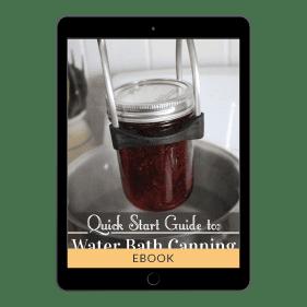Water Bath Canning eBook