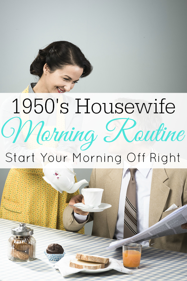 1950's Housewife Morning Routine - Retro Housewife Goes Green