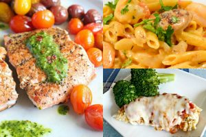 collage of 30 minute meals