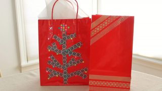 Easy DIY Washi Tape Gift Bags