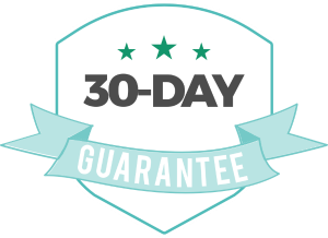 30-day guarantee graphic