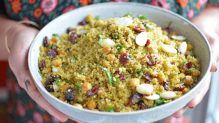 Curried Quinoa Pilaf – Pulav
