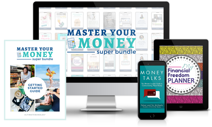 bundle featured on computer, book, table, and phone
