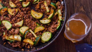 Zucchini Beef Skillet Recipe a One-Pot