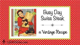 Busy Day Swiss Steak