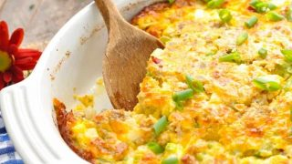 Overnight Easy Breakfast Casserole